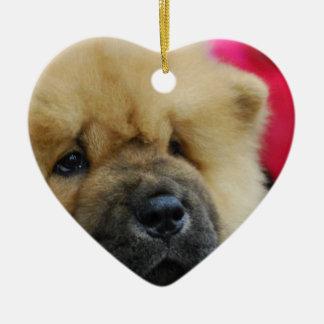 Perro chino de perro chino dulce ornamentos de reyes