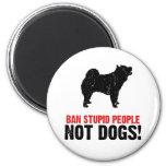 Perro chino de perro chino iman de nevera