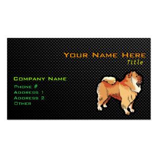 Perro chino de perro chino liso tarjetas de visita