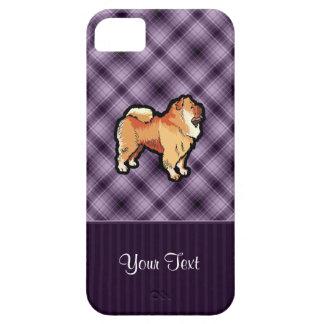 Perro chino de perro chino púrpura iPhone 5 protector