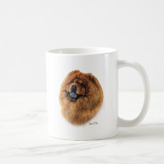Perro chino de perro chino taza