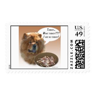 Perro chino de perro chino Turquía Sello