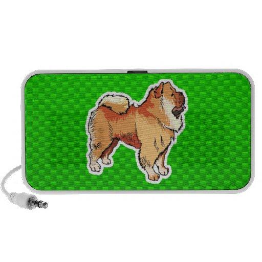 Perro chino de perro chino verde mini altavoces