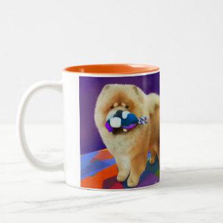 Perro chino del heARTdog de AUSTIN Taza De Café