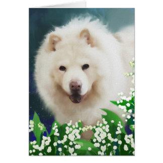 Perro chino del heARTdog del LIRIO Tarjeta