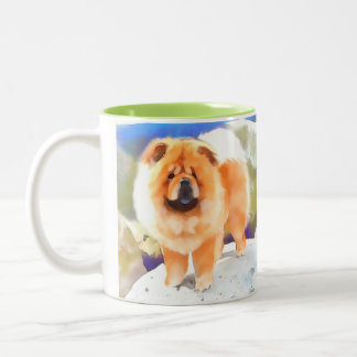 Perro chino LOCUAZ del heARTdog Tazas