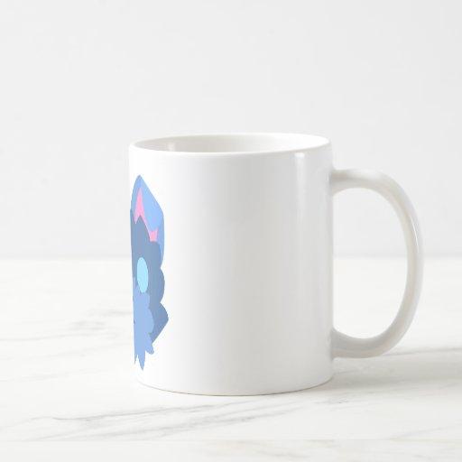 Perro ciego taza de café