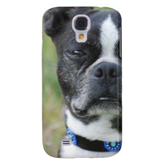 Perro clásico de Boston Terrier Funda Para Galaxy S4