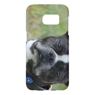 Perro clásico de Boston Terrier Fundas Samsung Galaxy S7