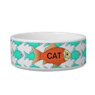 Perro COLORIDO del CAT BOWL/DISH-small de los Comedero Para Mascota