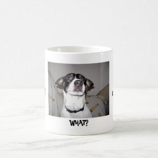 ¡Perro con un 'Tude! Taza De Café