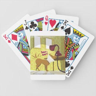 Perro Conehead divertido Baraja Cartas De Poker