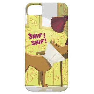 Perro Conehead divertido iPhone 5 Case-Mate Coberturas