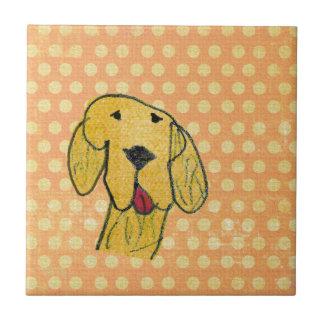 """""""Perro"""" creado por un niño - diseño del arte de lo Teja"""