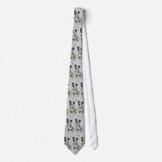 Perro dálmata vivaracho corbata personalizada