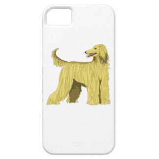 Perro de afgano iPhone 5 cárcasas