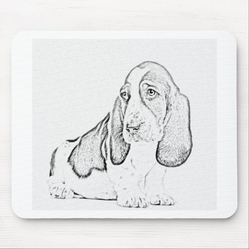 Perro de afloramiento tapete de raton