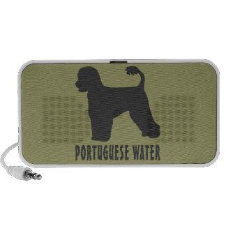 Perro de agua portugués laptop altavoz