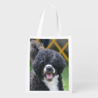 Perro de agua portugués bolsa para la compra