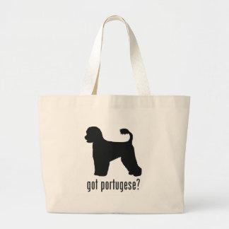 Perro de agua portugués bolsa tela grande