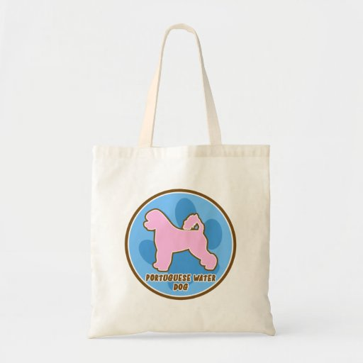Perro de agua portugués de moda bolsas
