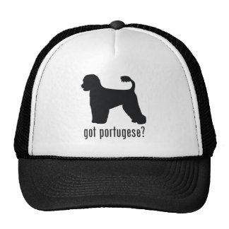 Perro de agua portugués gorra