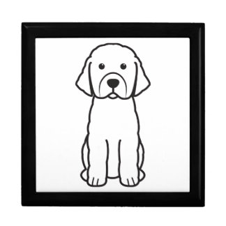 Perro de aguas caja de recuerdo