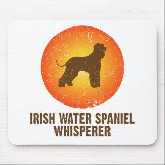 Perro de aguas de agua irlandesa tapete de ratón