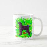 Perro de aguas de agua irlandesa taza de café
