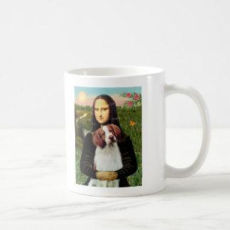 Perro de aguas de Bretaña 3 - Mona Lisa Taza De Café
