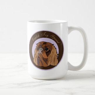 Perro de aguas de juguete inglés del perro taza