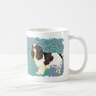 Perro de aguas de juguete inglés elegante taza