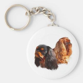 Perro de aguas de juguete inglés llavero personalizado