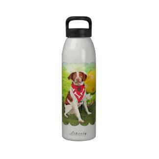 Perro de aguas de Pascua - de Bretaña - Elliott Botella De Agua Reutilizable