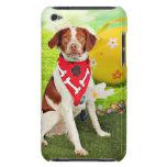 Perro de aguas de Pascua - de Bretaña - Elliott iPod Touch Case-Mate Funda