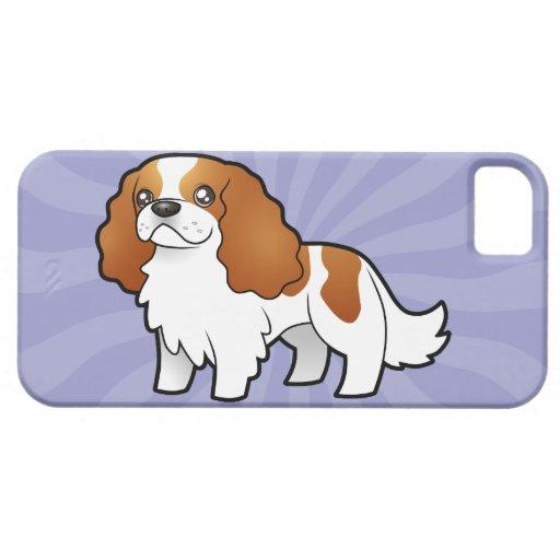 Perro de aguas de rey arrogante Charles del dibujo Funda Para iPhone SE/5/5s