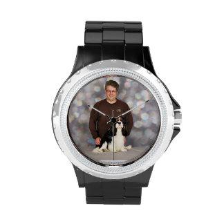 Perro de aguas de rey Charles arrogante - flash Relojes De Mano