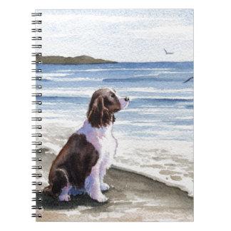 Perro de aguas de saltador cuaderno