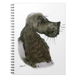 Perro de aguas de saltador, fernandes tony libretas espirales