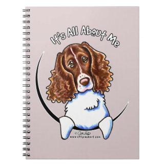 Perro de aguas de saltador IAAM Cuaderno