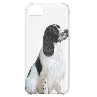 Perro de aguas de saltador inglés (a) - blanco y n