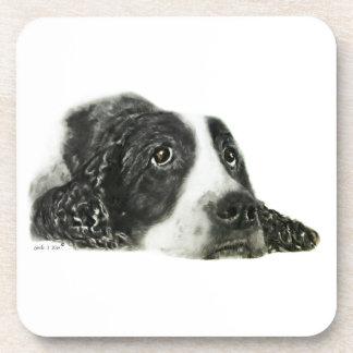 Perro de aguas de saltador inglés posavasos
