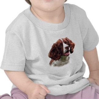 Perro de aguas de saltador camisetas