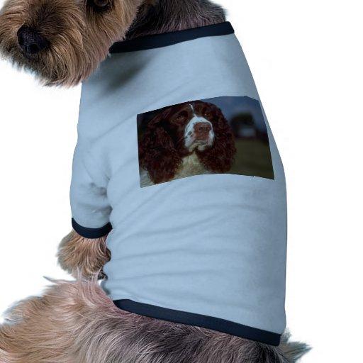 Perro de aguas de saltador camiseta con mangas para perro