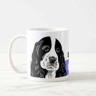Perro de aguas de saltador taza de café