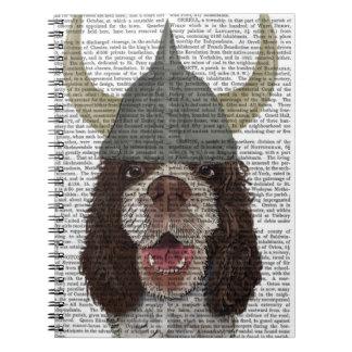 Perro de aguas de saltador Viking Note Book