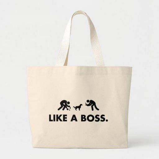 Perro de aguas francés bolsas de mano