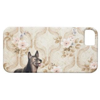 Perro de Alsation iPhone 5 Case-Mate Funda