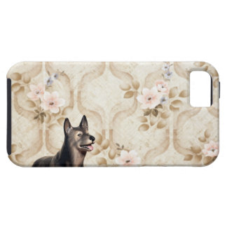 Perro de Alsation iPhone 5 Case-Mate Cárcasas