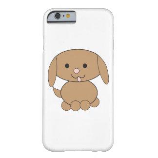 Perro de Brown Kawaii Funda Barely There iPhone 6